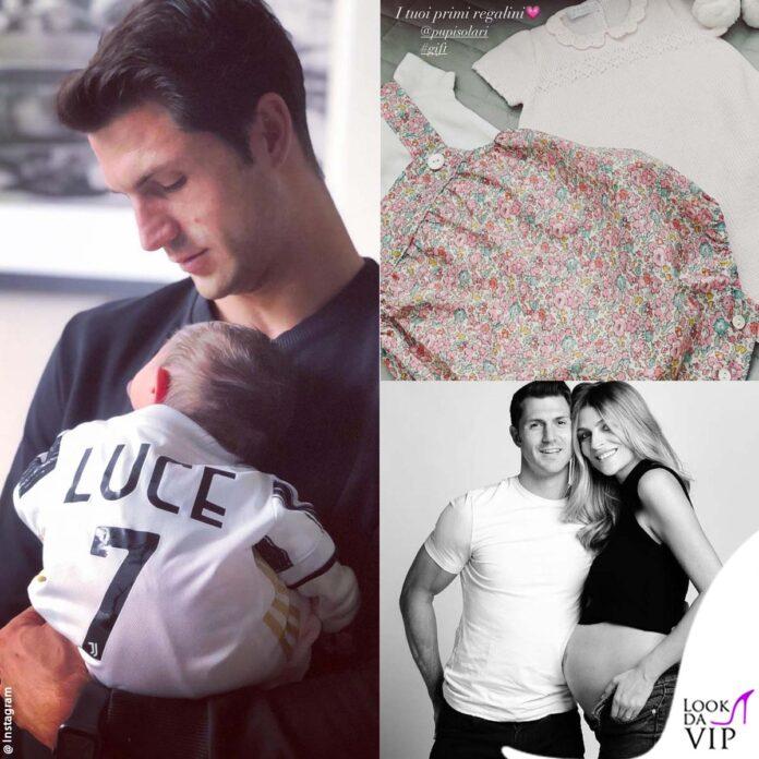 i primi look di Luce, la figlia di Cristina Chiabotto e Marco Roscio