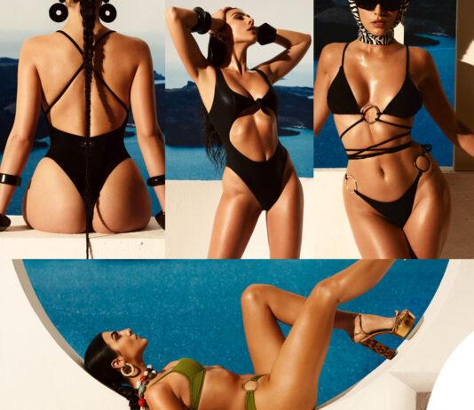 Giulia Salemi bikini costumi Smmrbeachwear
