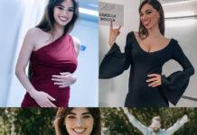 Lorella Boccia Verissimo abito Dolce Gabbana Amici abito Stella MCCartney
