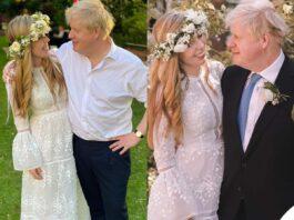 i dettagli del matrimonio di boris johnson e carrie symonds