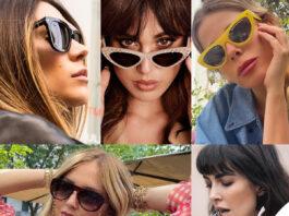occhiali da sole Satta Rodriguez Marcuzzi Ferragni Munoz