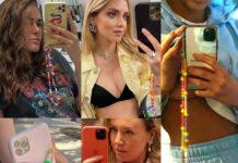 Francesca Sofia Novello Chiara Ferragni Cecilia Rodriguez Ludovica Frasca Elena Barolo phone strap