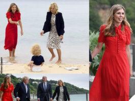 carrie symonds con jill biden: due first lady in cornovaglia