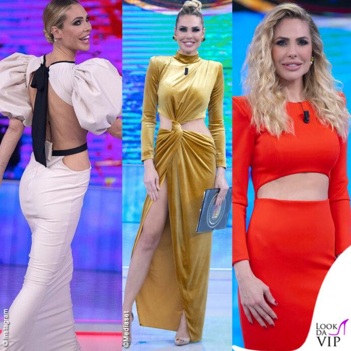 Ilary Blasi Isola, outfit: ecco tutti i look