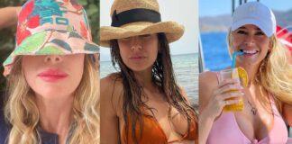 Alessia Marcuzzi Elisabetta Canalis Diletta Leotta Cecilia Rodriguez Chiara Ferragni Costanza Caracciolo cappello