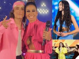 Battiti Live 2021 1 puntata Elisabetta Gregoraci Sangiovanni rosa Mariasole Pollio Annalisa