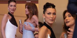 Bella Hadid e Carla Bruni al Festival di Cannes tra toccatine e confidenze