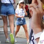 Diletta Leotta anello di fidanzamento maglia Dior borsa Dolce Gabbana scarpe Puma Can Yaman