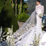 Giorgia Gabriele abito da sopsa Off White scarpe amina muaddi gioielli Eeera 2