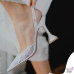 Giorgia Gabriele sposa scarpe amina muaddi cerimonia
