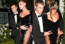 Justin Bieber Hailey Baldwin abito Alessandra Rich