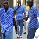 khaby lame in centro a milano tra shopping e ghiacciolo con l'outfit firmato