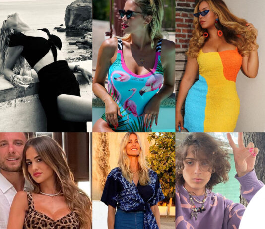 Look star luglio: Blasi Leotta Beyonce Melena Santarelli Sangiovanni