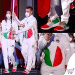 Olimpiadi Jessica Rossi Elia Viviani Nazionale Italiana divisa ufficiale Emporio Armani