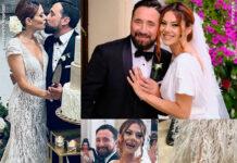 Giglia Marra abito da sposa Alessandro Angelozzi scarpe Loriblu nozze Federico Zampaglione 0