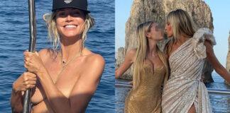 le vacanze italiane di heidi klum tra yacht e party esclusivi