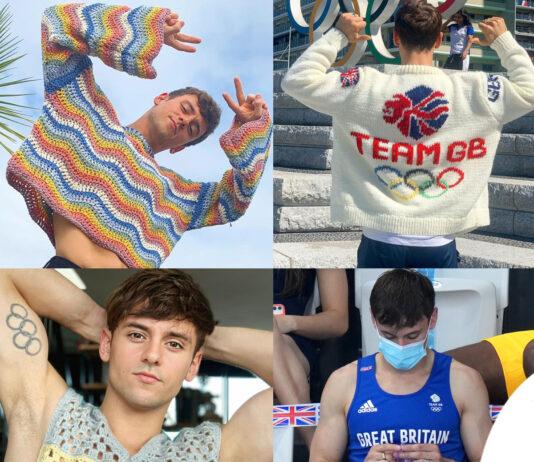 Tom Daley lavoro a maglia Olimpiadi
