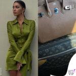 Belen Rodriguez borsa Birkin Hermes trolley Louis Vuitton 0