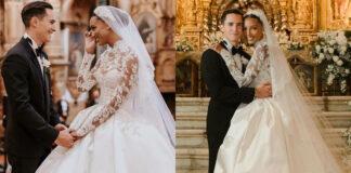 il matrimonio da favola di jasmine tookes e una david borrero