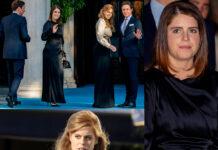beatrice e eugenia di york con i mariti al matrimonio di philippos e nina di grecia