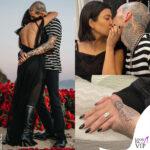 kourtney kardashian e travis barker si sposano: i dettagli dell'anello